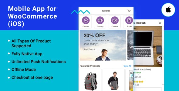 iOS App for WooCommerce