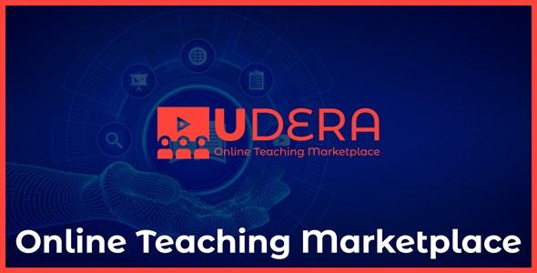 Udera - Online Teaching Marketplace - CodeCanyon Item for Sale