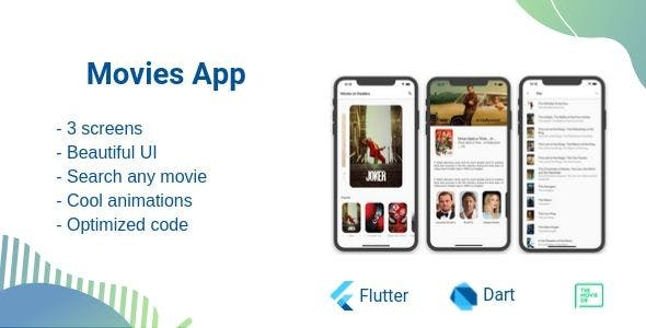 Movies - Flutter simple app