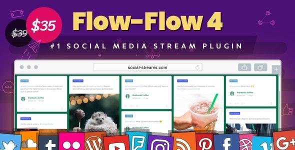 Facebook Instagram Twitter Feed — WordPress Social Stream & Grid Gallery Plugin - CodeCanyon Item for Sale