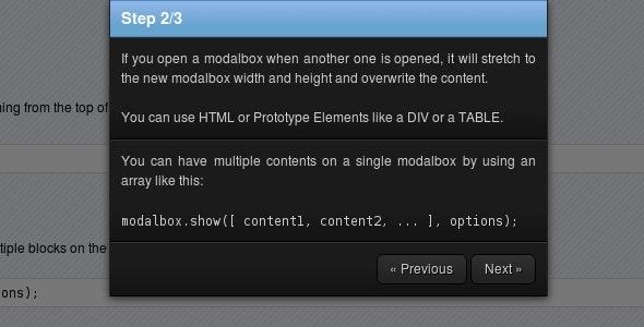 Modalbox - CodeCanyon Item for Sale