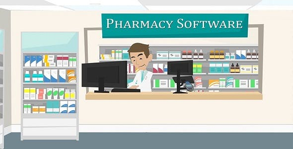 Pharmacy Retail Software supported with Indian GST