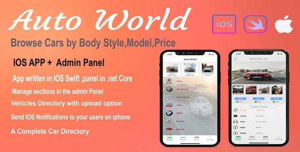 Auto World - CodeCanyon Item for Sale