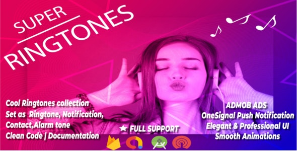 Super Ringtones - CodeCanyon Item for Sale