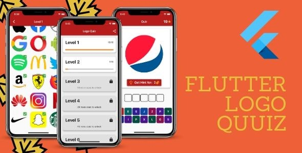 Flutter Logo Quiz App. - CodeCanyon Item for Sale
