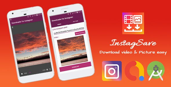 InstagSave - Video & Image Downloader for Instagram