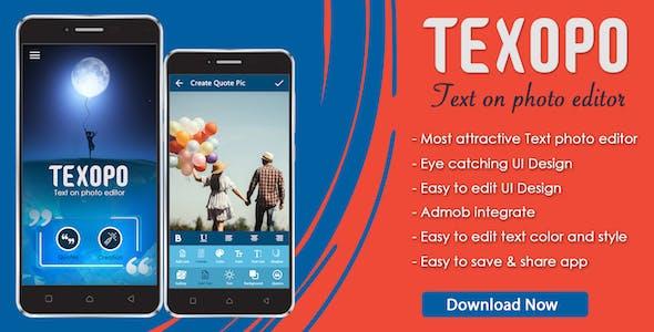 Texopo - text on photo Quote creator app