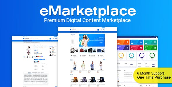 eMarketplace - Premium Digital Content Marketplace