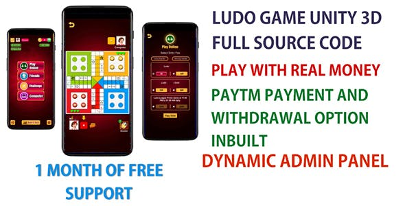 Ludo Game Unity 3D Play With Real Money