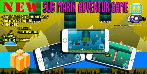 android game : submarine adventure game