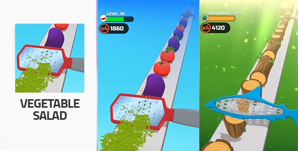Vegetable Salad - Unity 3D Game Template