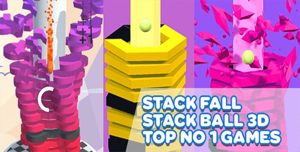 Stack Ball - UNITY