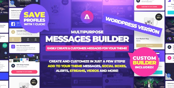 Asgard - Multipurpose Messages and Social Builder Plugin