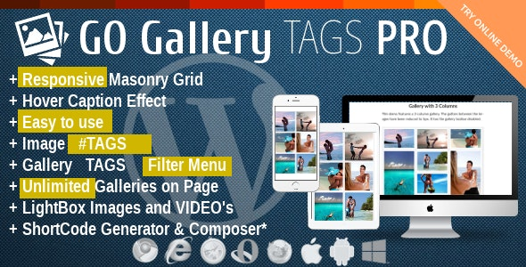 GoGallery Tags Pro - CodeCanyon Item for Sale