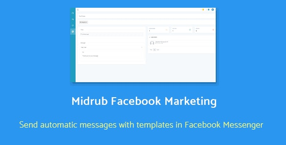 Midrub Facebook Marketing - automatize and send promotional messages with templates in Messenger - CodeCanyon Item for Sale