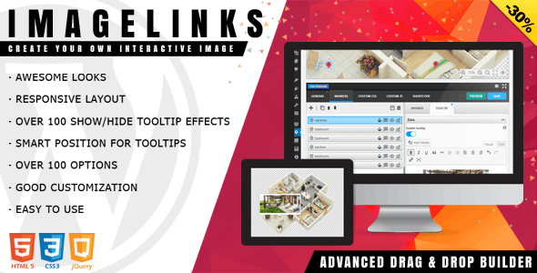 ImageLinks - Interactive Image Builder for WordPress