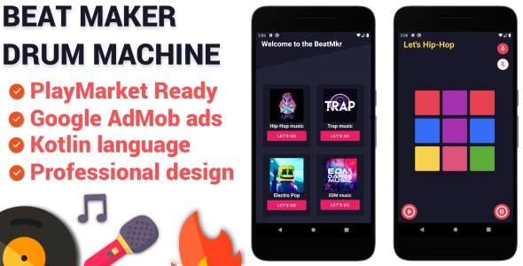 Beat Maker Android Application