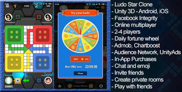 Ludo Multiplayer with admob