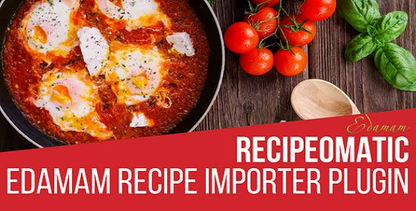 Recipeomatic Automatic Recipe Post Generator Plugin for WordPress