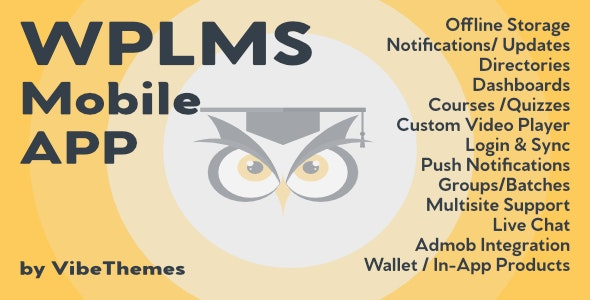 WPLMS Learning Management System App for Education & eLearning - CodeCanyon Item for Sale