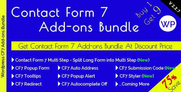 Contact Form 7 Add-ons Bundle