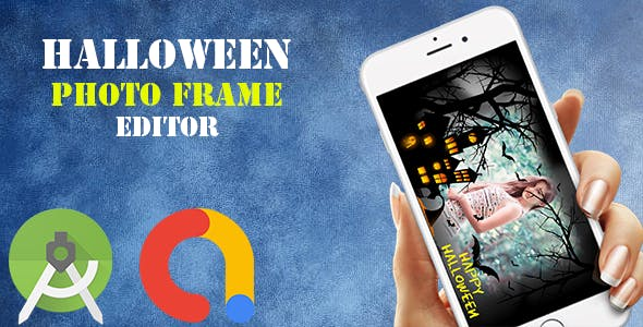 Halloween Photo Frame Editor (Android App)