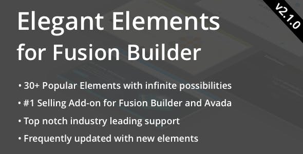 Elegant Elements for Fusion Builder and Avada