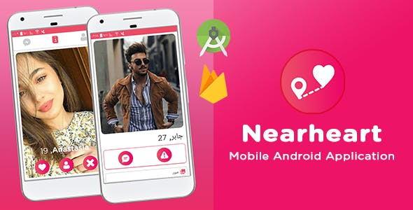 Nearheart - Mobile Android Application Social Dating Platform