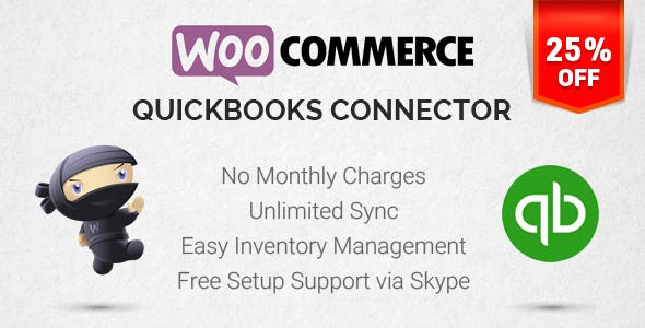 WooCommerce Connector for Quickbooks
