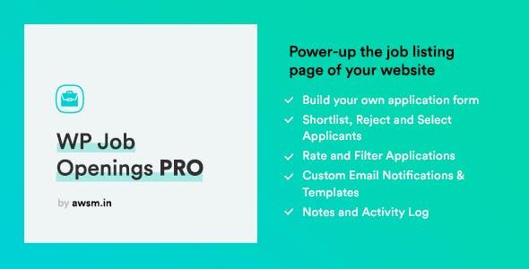 WP Job Openings PRO