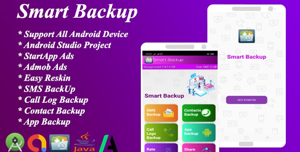Smart Backup For Android v2.0 - CodeCanyon Item for Sale