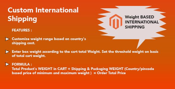 International Shipping Magento 2 Extension