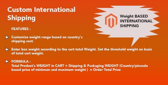 International Shipping Magento 2 Extension