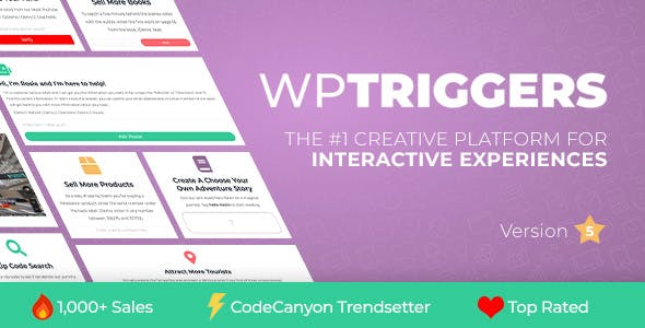 WP Triggers - Add Instant Interactivity To WP