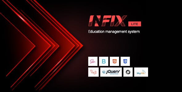 InfixEdu Lite - Open Source School Management System