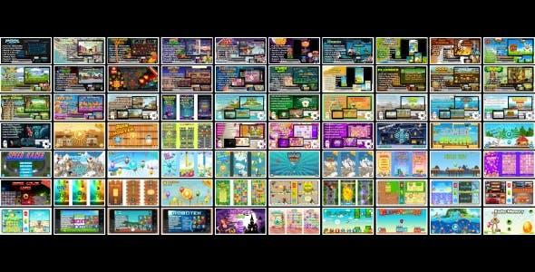 70 HTML5 GAMES!!! SUPER BUNDLE №3 (Construct 3 | Construct 2 | Capx)