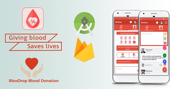 BlooDrop - Blood Donation App