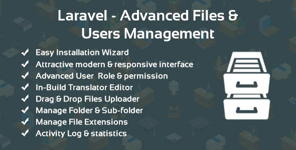Laravel - Advanced Files & Users Management