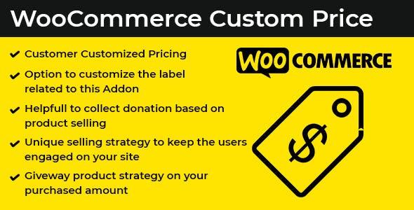 WooComerce Custom Price