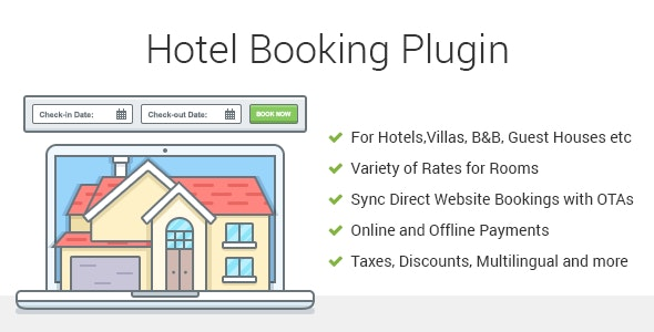 Hotel Booking WordPress Plugin - MotoPress Hotel Booking - CodeCanyon Item for Sale