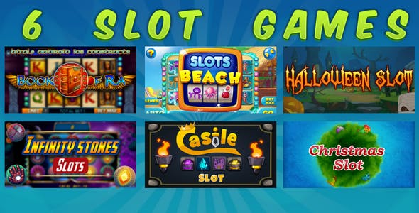 HTML5 SLOT GAMES BUNDLE №4