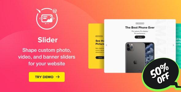 Slider - WordPress Image Slider Plugin - CodeCanyon Item for Sale