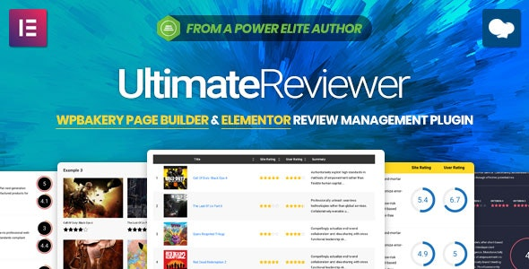 Ultimate Reviewer - Elementor & WPBakery Page Builder Addon - CodeCanyon Item for Sale
