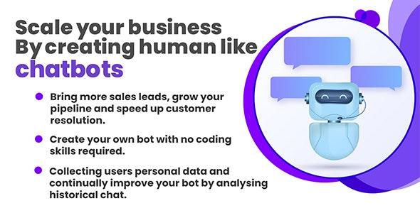 Maxbot - Chatbot Builder WordPress Plugin - CodeCanyon Item for Sale