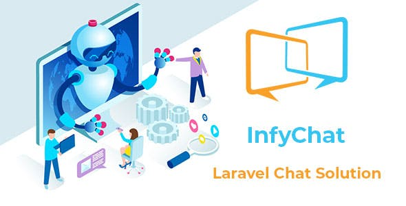 InfyChat - Laravel Chat App Package