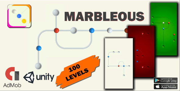 MarbleOust 3D ball- Unity Game Source Code Android & IOS Game Template