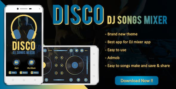 DISCO : DJ Songs Mixer App