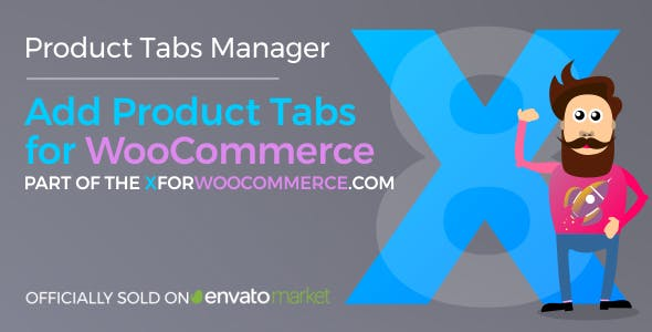 Add Product Tabs for WooCommerce