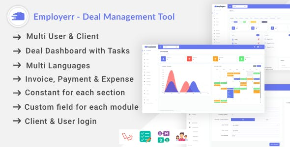 Employerr - Deal Management Tool