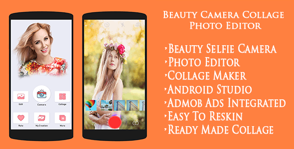 Beauty Camera Collage Photo Editor Selfie Camera